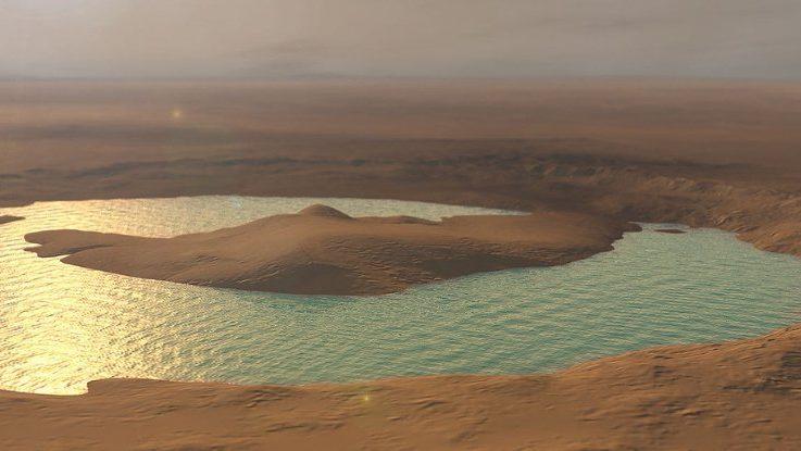 Marte: scoperte tracce di laghi salati nel Cratere Gale