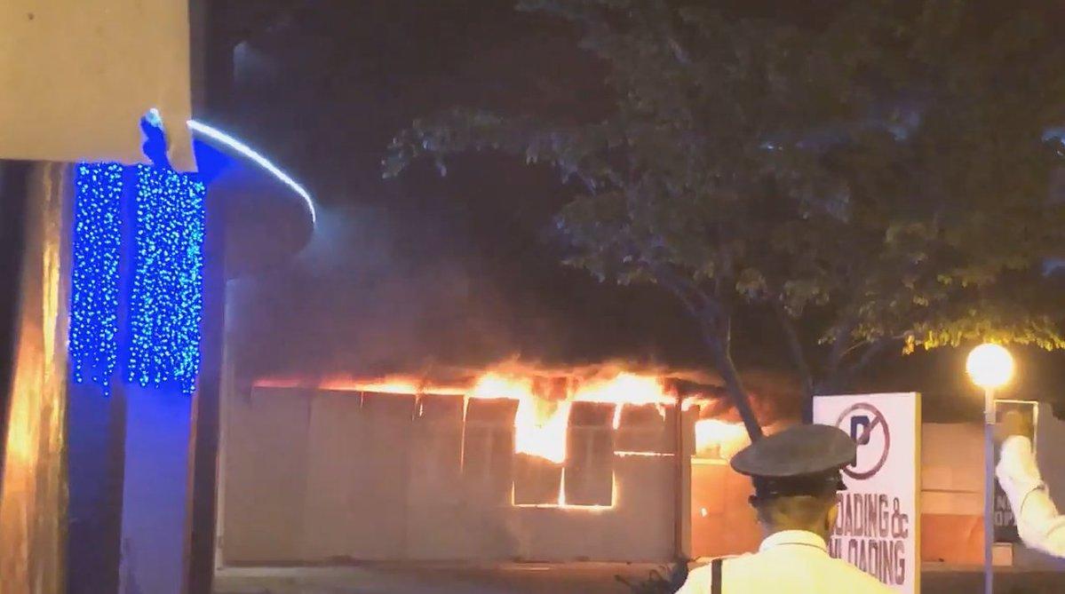Terremoto Filippine: incendio distrugge centro commerciale