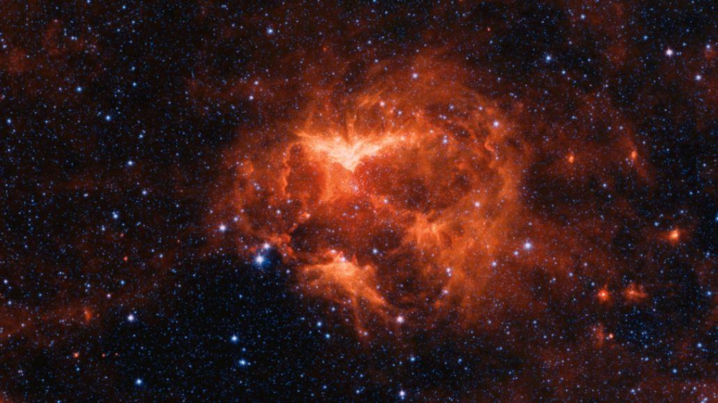 Una zucca cosmica ai confini della via Lattea, la foto della Nasa