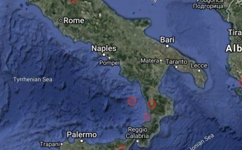 Terremoto Calabria: scossa di 4.6 gradi. Boato e gente in strada