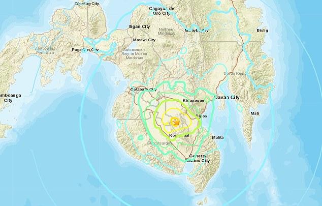 Filippine: terremoto di 6.3 gradi scuote Mindanao
