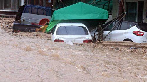 Corea del  Sud: il tifone Mitag sconvolge le regioni meridionali