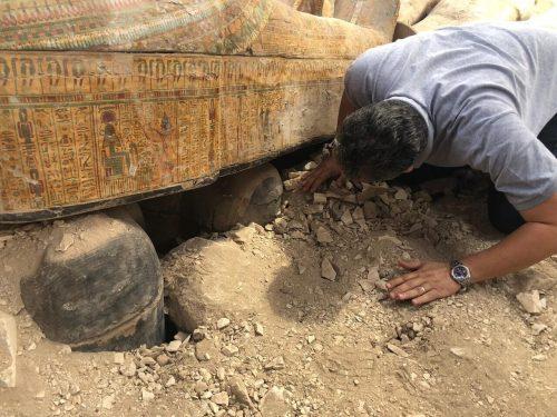 Egitto: scoperte 20 nuove bare. 'Il ritrovamento più importante degli  ultimi 20 anni'