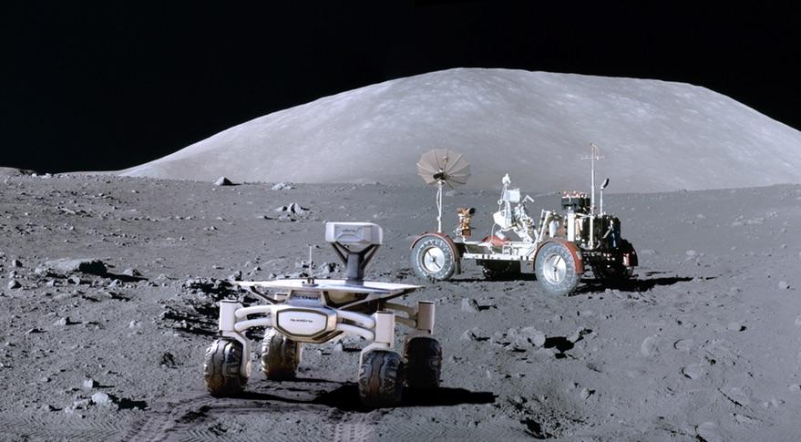 Luna: aperto contenitore sigillato di Apollo 17. Il video