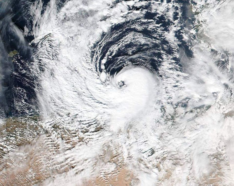 Ciclone mediterraneo verso il Sud Italia: forte maltempo  in arrivo