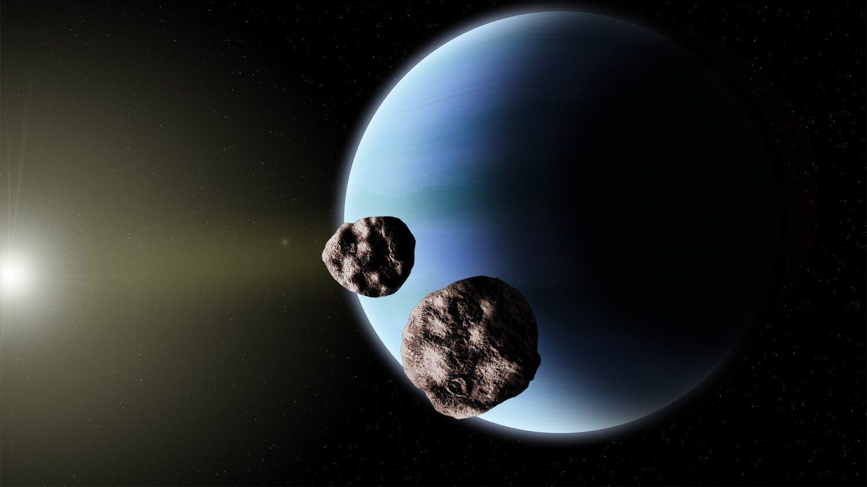 Nettuno: un misterioso movimento delle lune più interne