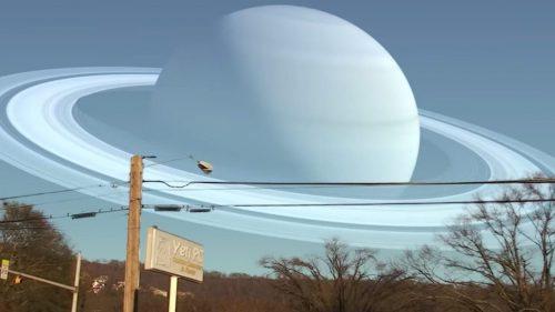 Un video mostra cosa vedremmo se i pianeti si sostituissero alla Luna