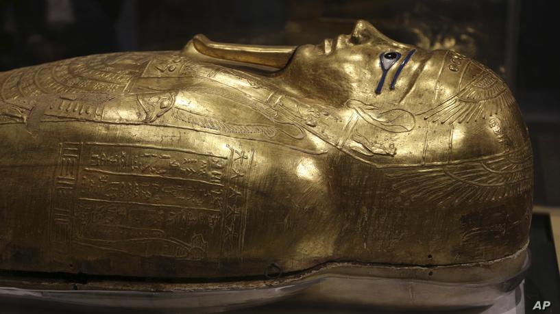 Una mummia di un leone scoperta in Egitto