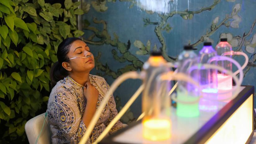 Inquinamento: in India in vendita le 'barre dell'ossigeno'
