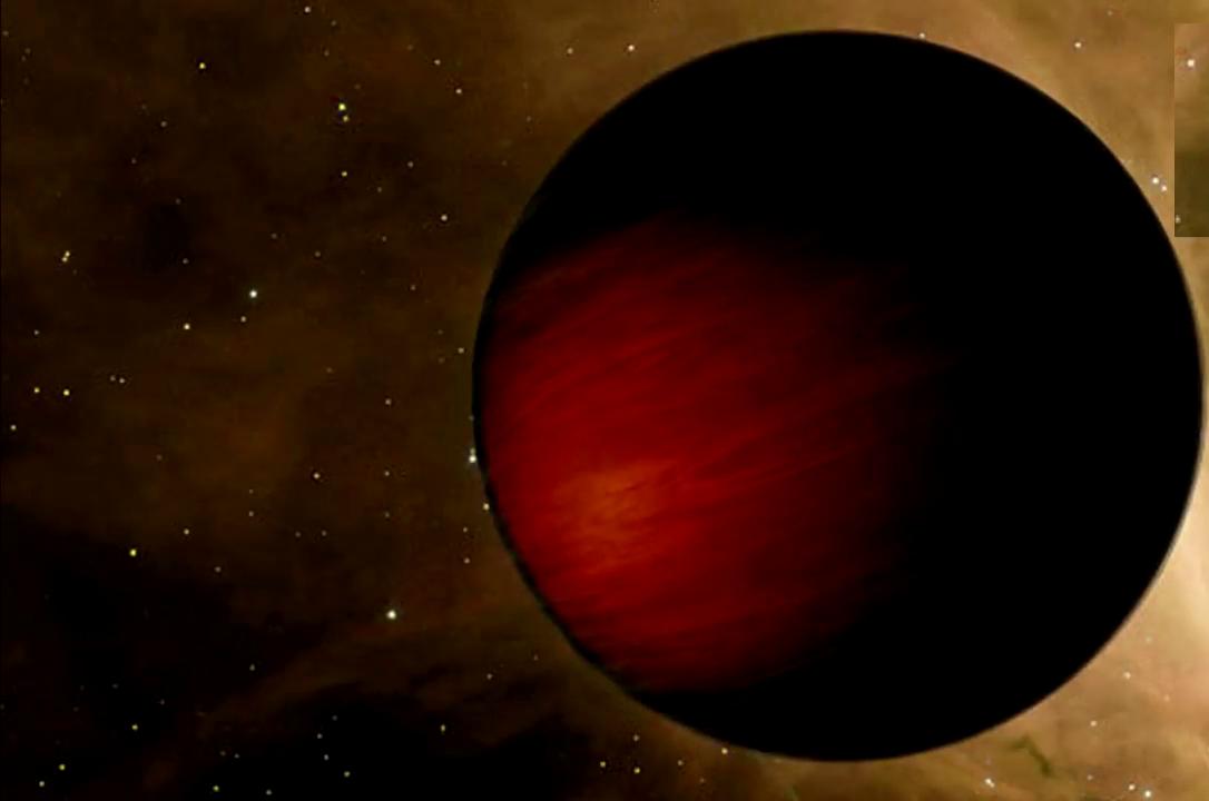 TrEs-2b, il pianeta 'più scuro' mai scoperto con un inquietante bagliore rosso