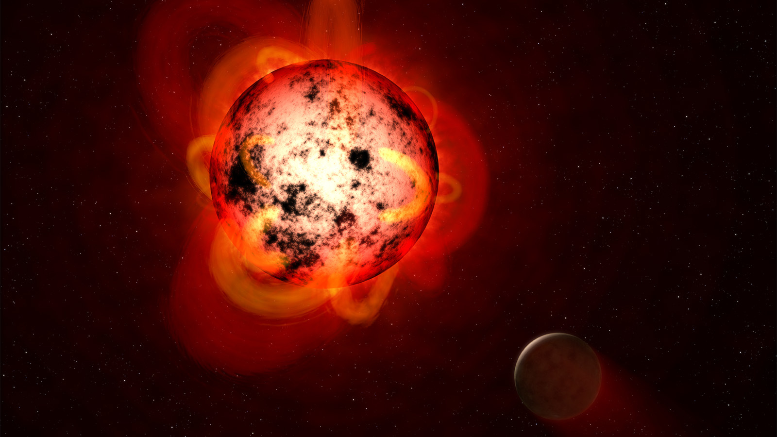 Spazio: i pianeti orbitanti intorno alle nane rosse sono abitabili?