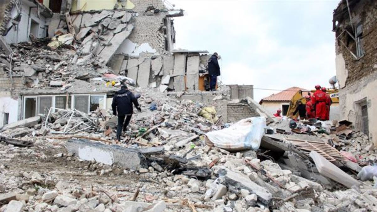 Terremoto Albania: dopo la scossa il suolo si è sollevato di 10 cm