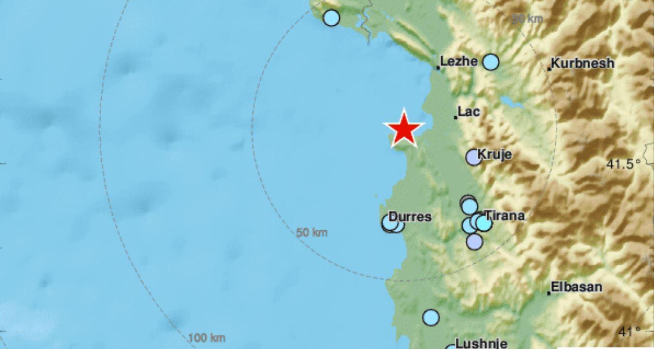 Nuovo violento terremoto in Albania: scossa M 5.2 avvertita anche in Puglia