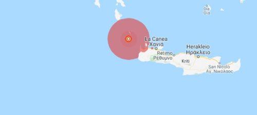 Terremoto Creta: scossa di 6 gradi in mare