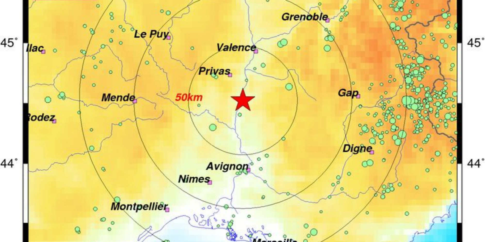 Terremoto Francia: forte scossa nel sud del paese. Paura al confine