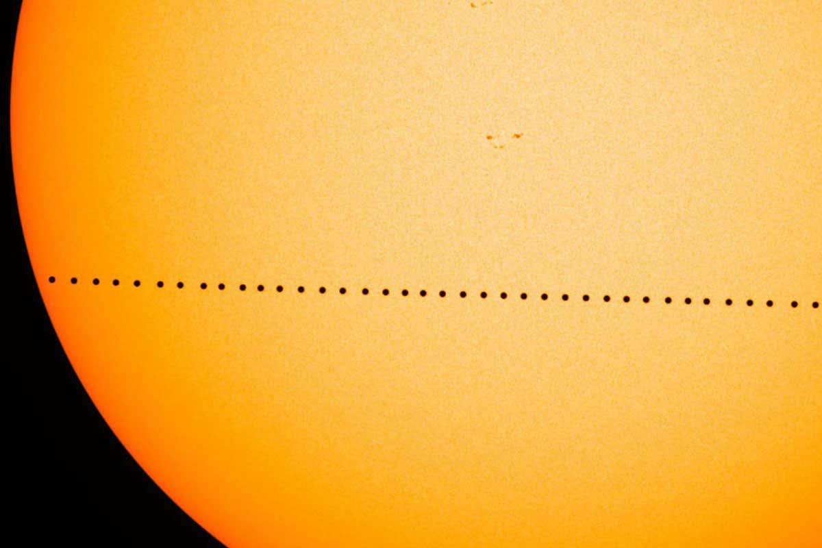 Transito di Mercurio davanti al Sole: cresce l'attesa per l'evento