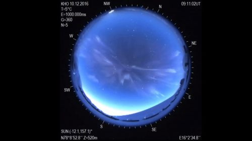 Norvegia: nei cieli si forma aurora misteriosa