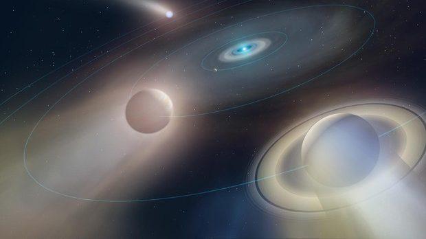 Spazio: scoperto un pianeta 'che evapora'