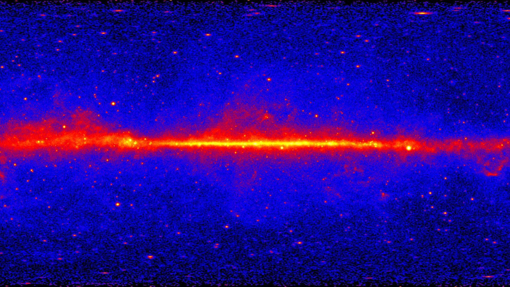 Spazio: misteriosa fonte di raggi gamma dalla Via Lattea