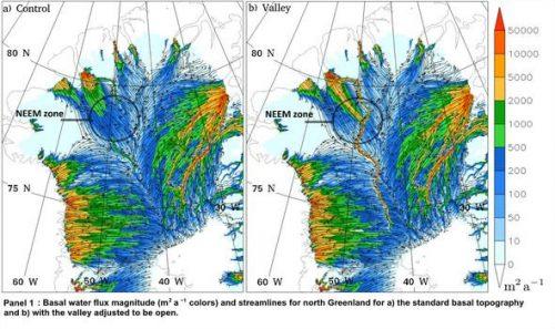 Groenlandia: scoperto un gigantesco fiume sotterraneo