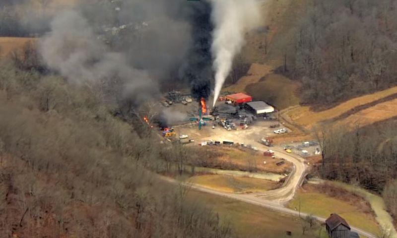 Catastrofica fuga di gas nell'Ohio ricostruita grazie ai satelliti