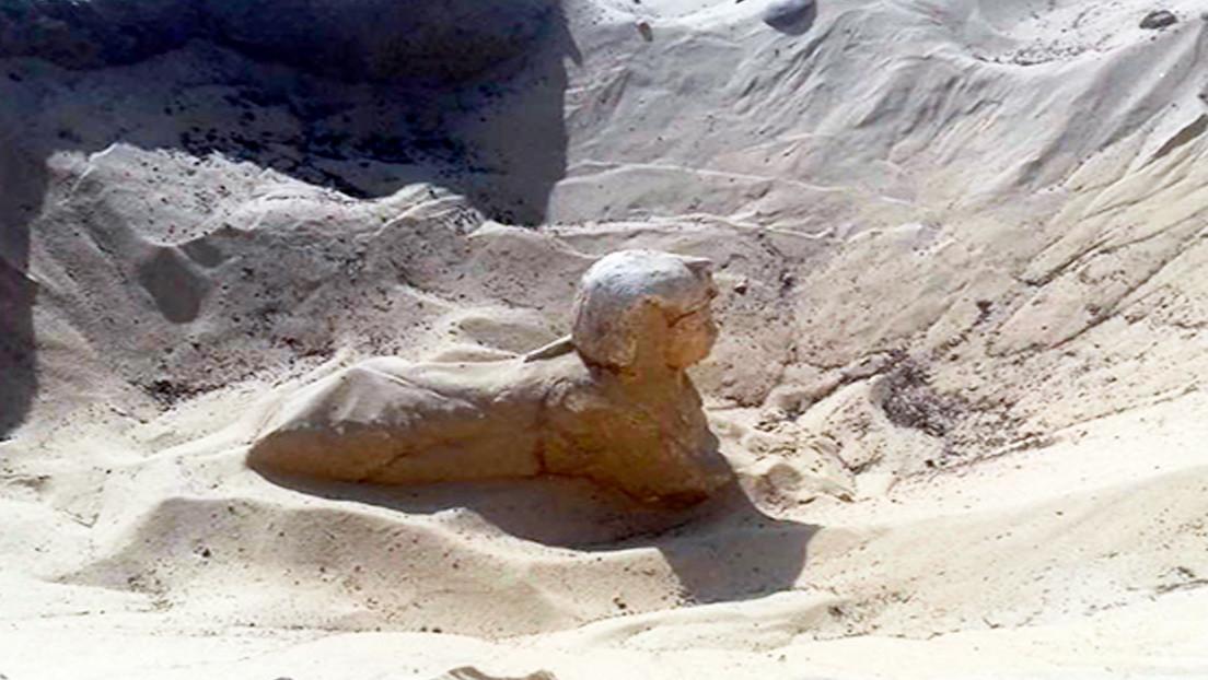 Egitto: scoperta sfinge a Minya