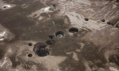 Mar Morto: si aprono voragini sul fondale