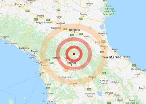 Terremoto Mugello: si è attivata la stessa struttura del 1919