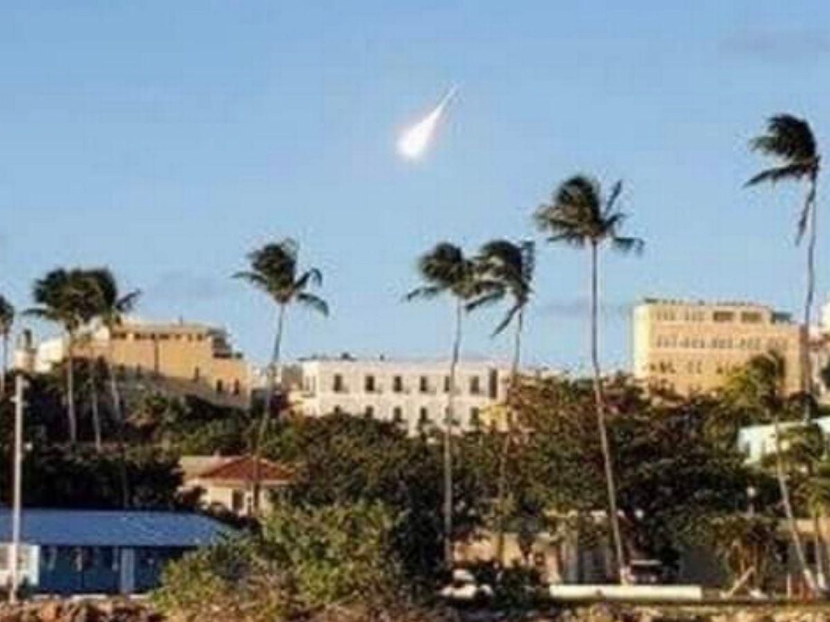 Bolide esplode in pieno giorno a Porto Rico