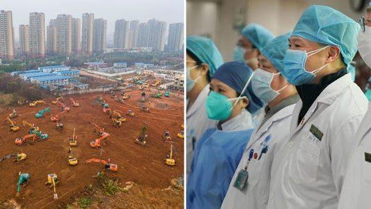 Cina: un nuovo ospedale in 5 giorni per combattere il coronavirus