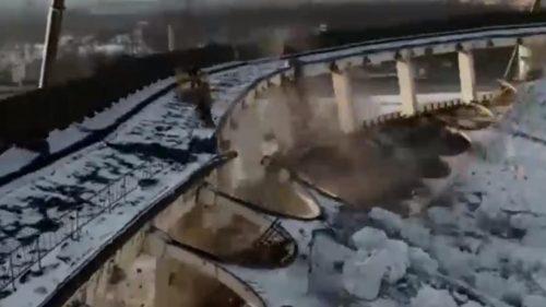 San Pietroburgo: crolla complesso sportivo. Almeno un disperso