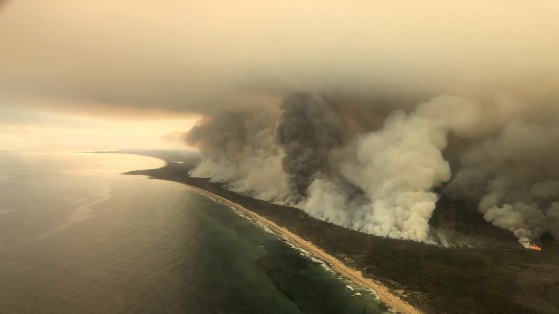 Incendi Australia: il fumo raggiunge il Sud America