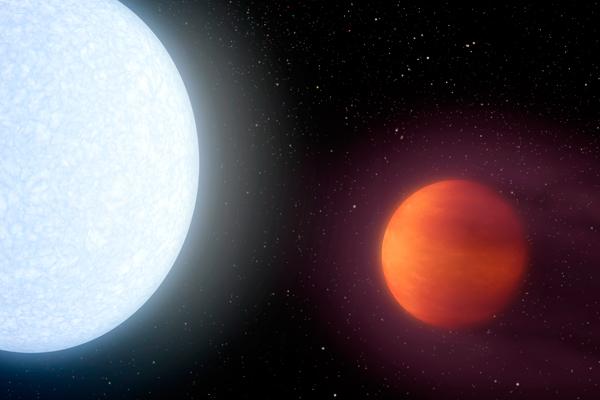 Cosa accade su KELT-9b? Gli strani fenomeni sul pianeta più caldo mai scoperto