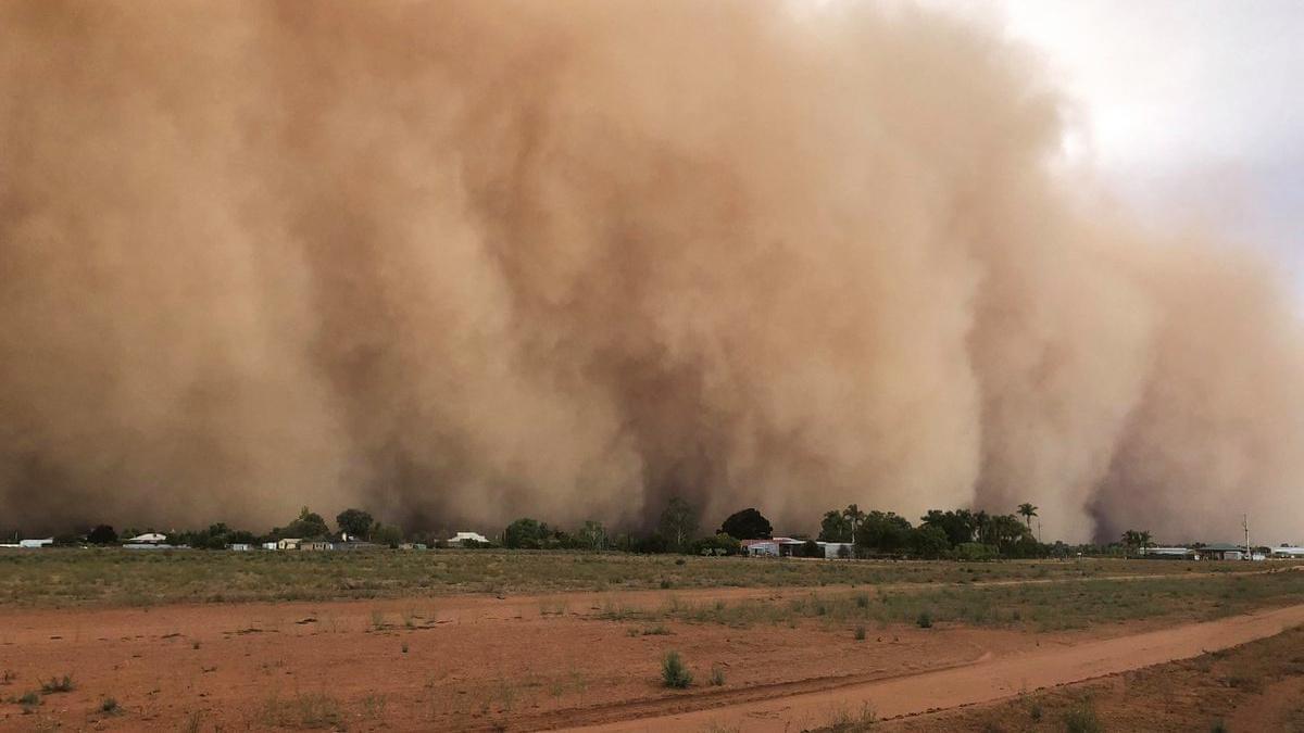 Australia: una tempesta di sabbia inghiotte il Nuovo Galles