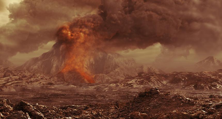 Venere è attivo: scoperte eruzioni vulcaniche sul pianeta