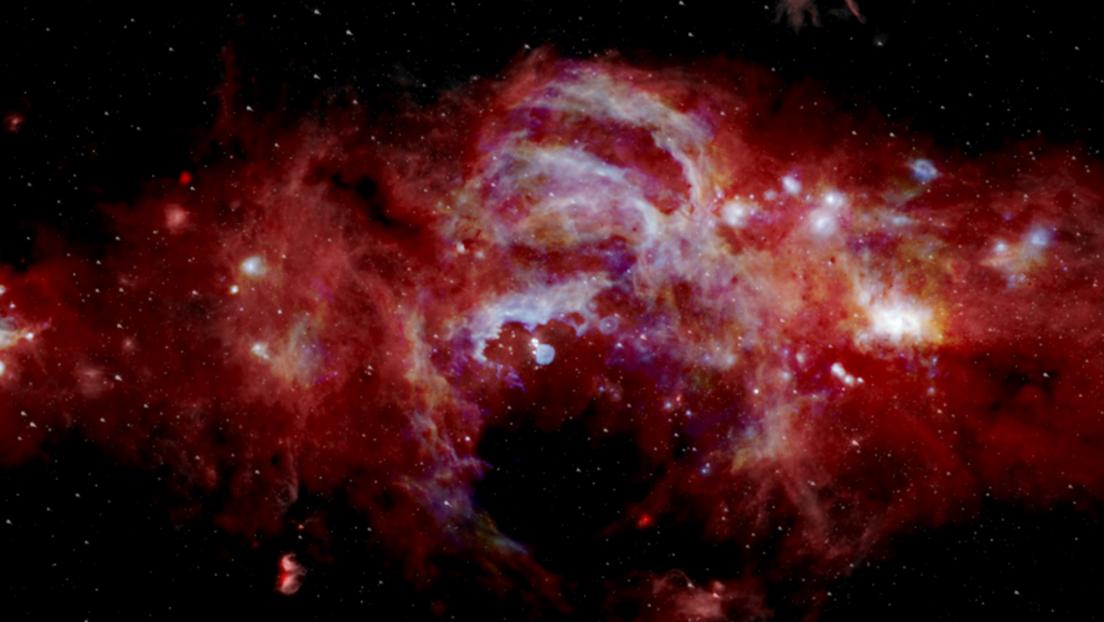 Spazio: la NASA mostra il inedito video del centro della Via Lattea.