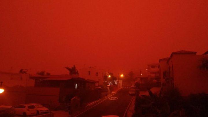 """Tempesta di sabbia sulle Canarie: """"la più grave da dieci anni"""""""