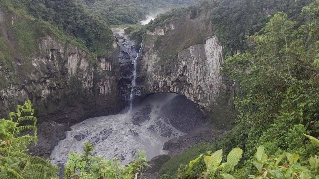 Collassa la Cascata di San Rafael in Ecuador. Il video