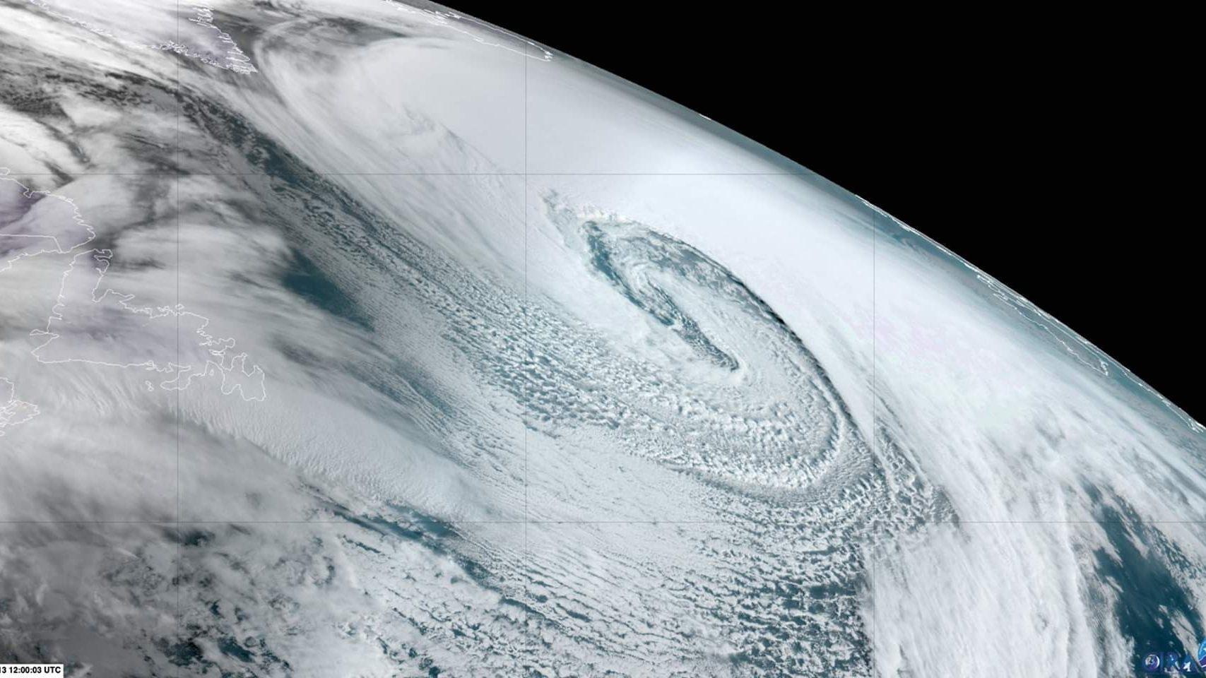 Arriva la tempesta Dennis: ancora maltempo in Europa