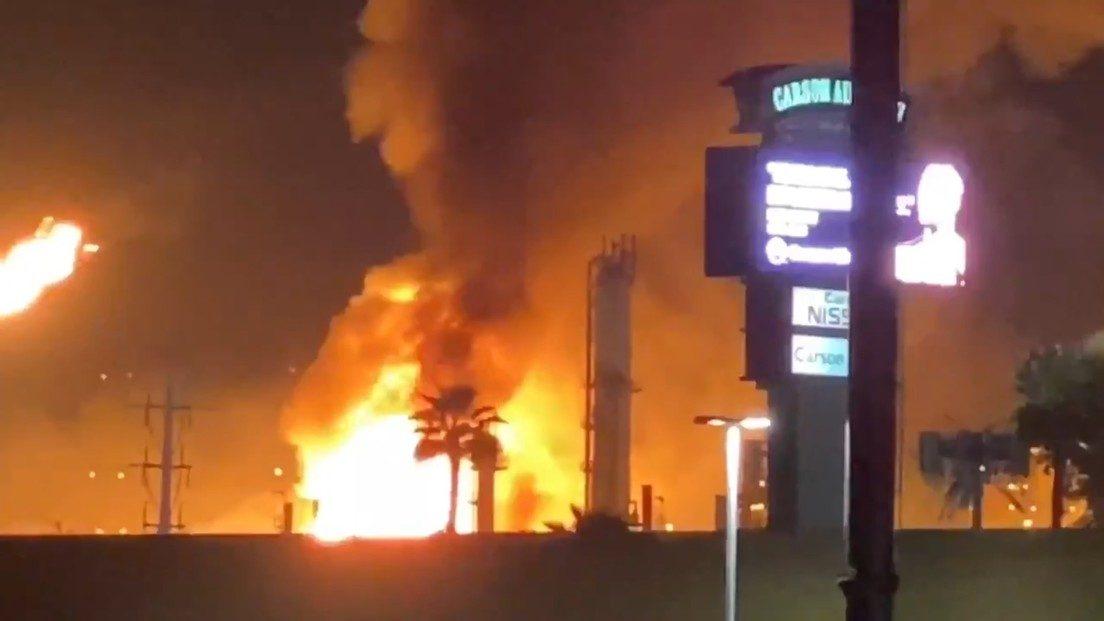 Stati Uniti: esplode la raffineria di Carson