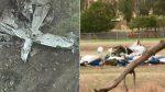Drammatico incidente aereo, schianto in volo tra due velivoli: quattro morti