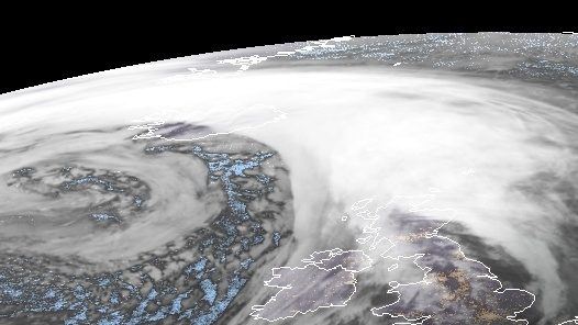 Dennis colpisce Regno Unito e Islanda: raffiche da uragano a Reykjavik