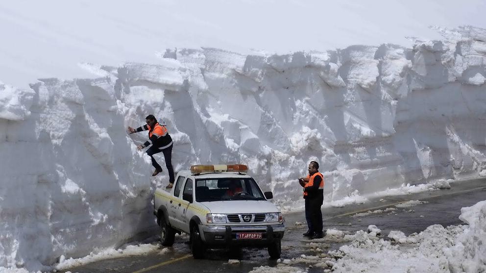Mai così freddo in Arabia Saudita e Iran: nevica anche a Baghdad