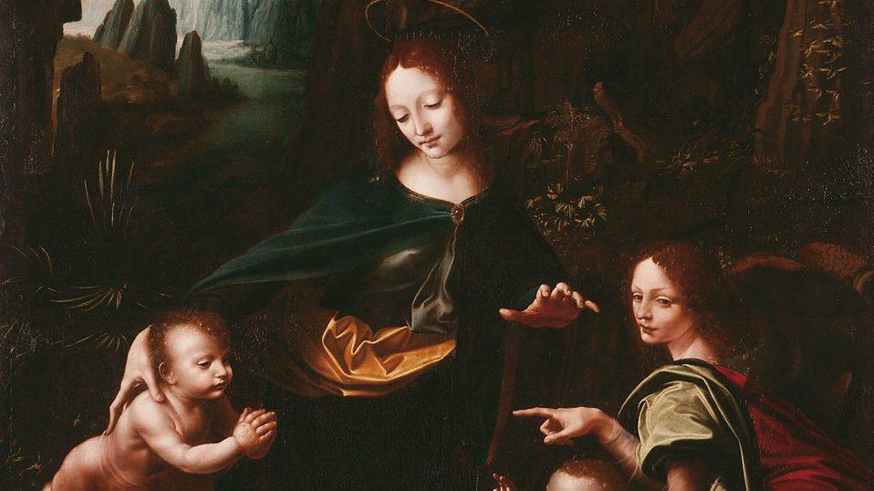Disegni nascosti nella Vergine delle Rocce di Leonardo. La scoperta