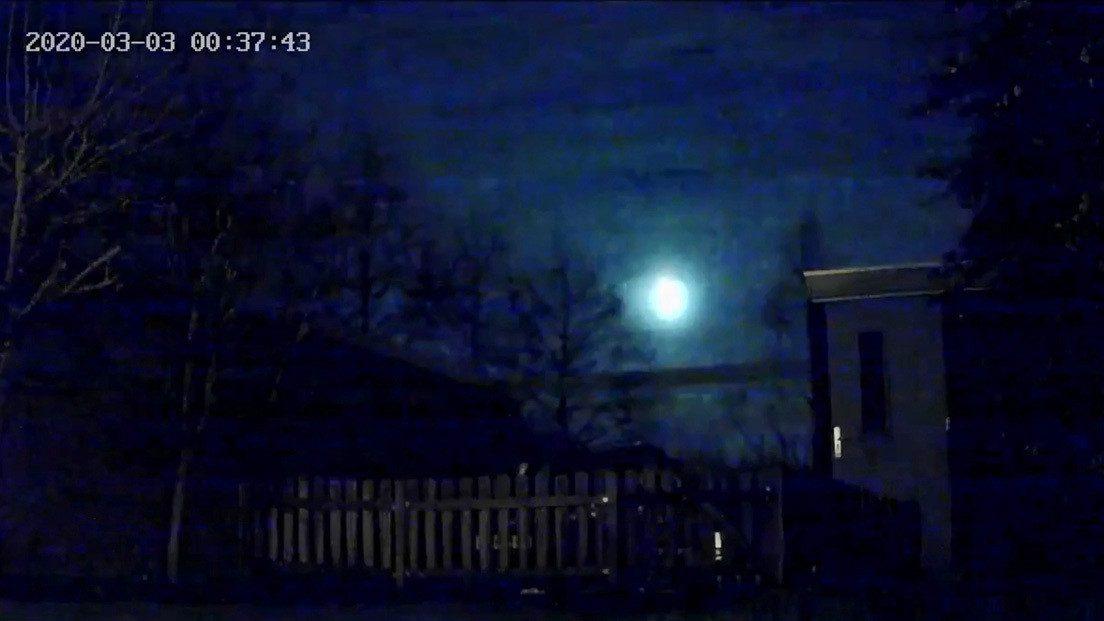 Spazio: un bolide illumina il cielo in Europa del nord