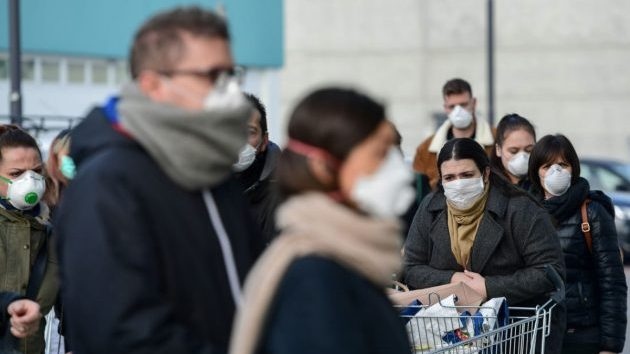 Coronavirus in Italia: altri 250 morti in 24 ore