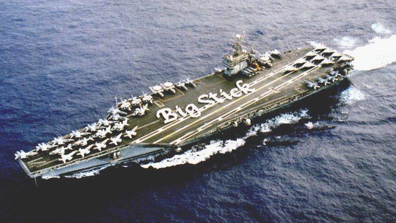 Equipaggio contagiato: isolata la portaerei americana USS Roosevelt