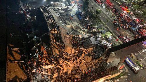 Cina: crolla l'edificio usato per la quarantena del Coronavirus. Il video