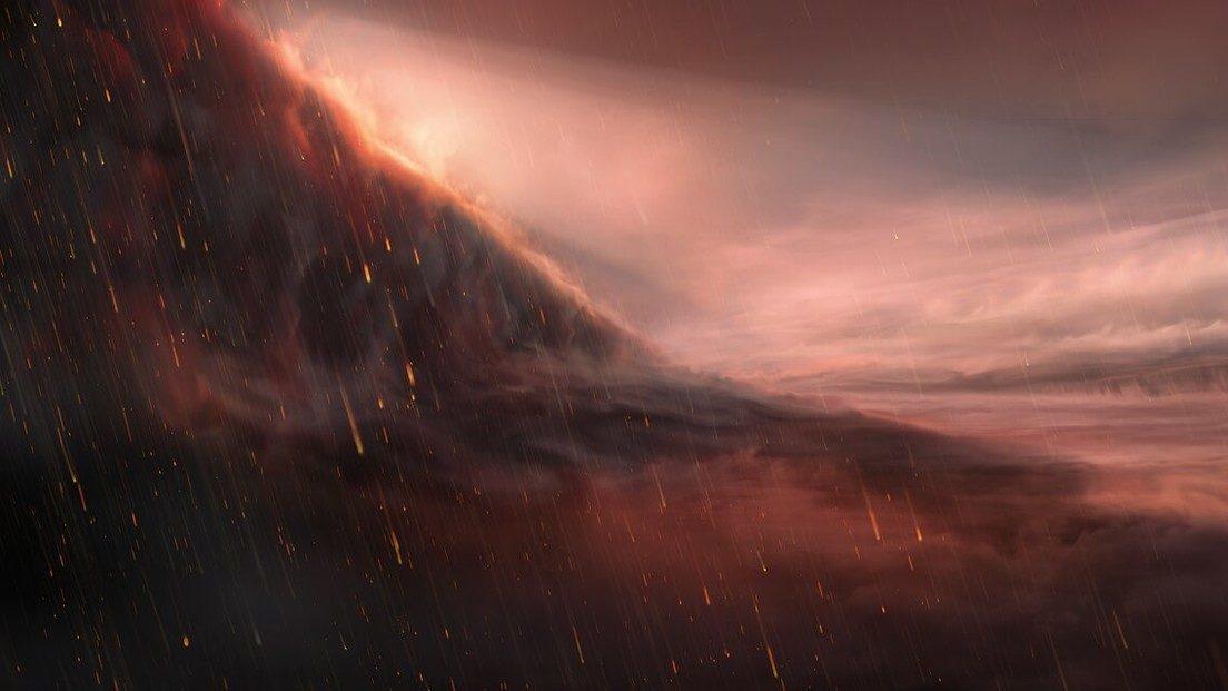 WASP-76b, il pianeta in cui piove ferro