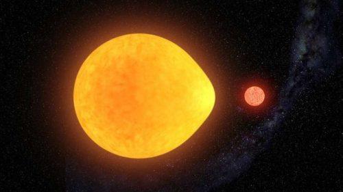 Spazio: scoperta una stella 'a goccia'